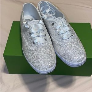 Keds for Kate Spade Bridal Sneakers (Size 8)